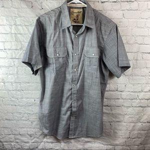Coastal Clothing Short Sleeve Pearl Snap Shirt